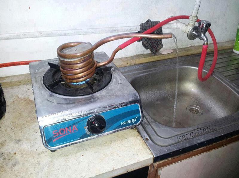 Проточной водонагреватель своими руками