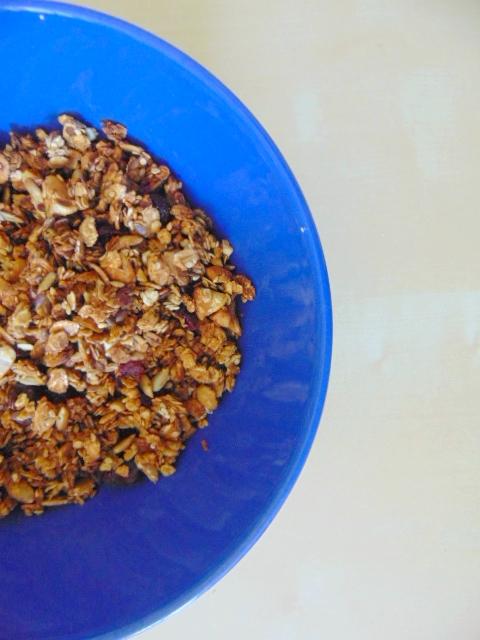 Granola cajou - cranberries cashew nut