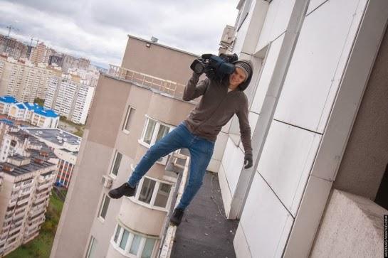 Des risques inconsidérés, c'est dangereux sans sécurité!