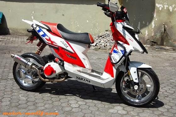Variasi Motor Matic X Ride terpopuler