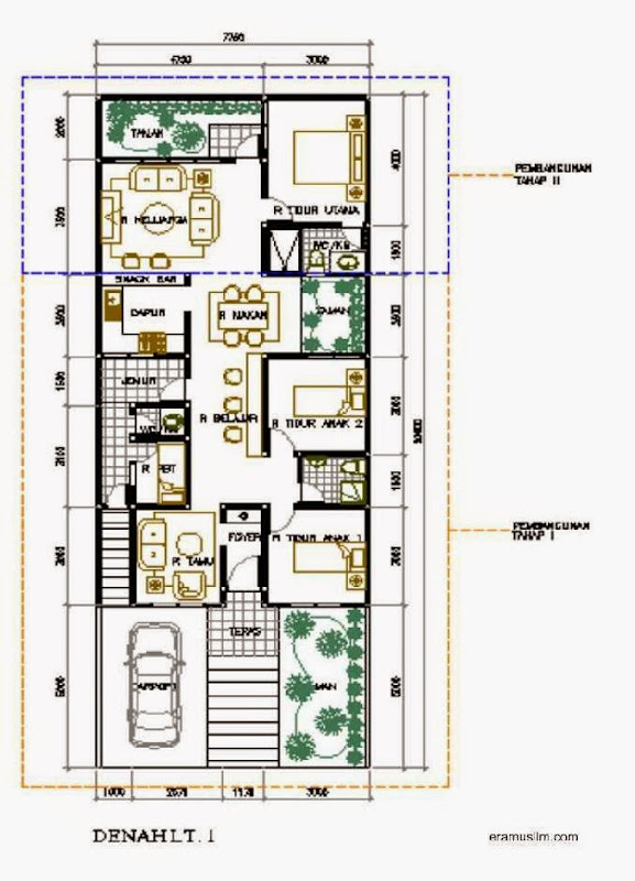 sajikan beberapa model contoh desain rumah minimalis modern 2