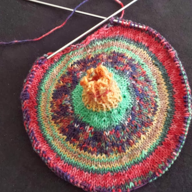 Knitting And So On Circle Mitts
