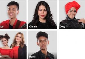 X Factor indonesia 14 Agustus 2015