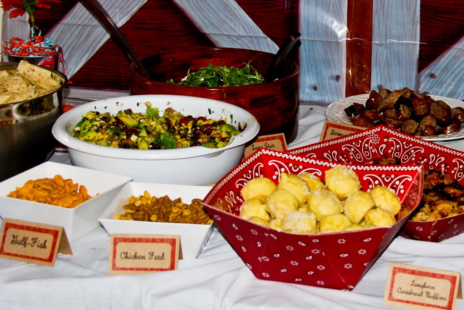 Cowboy party food ideas - Pretend Party Planner