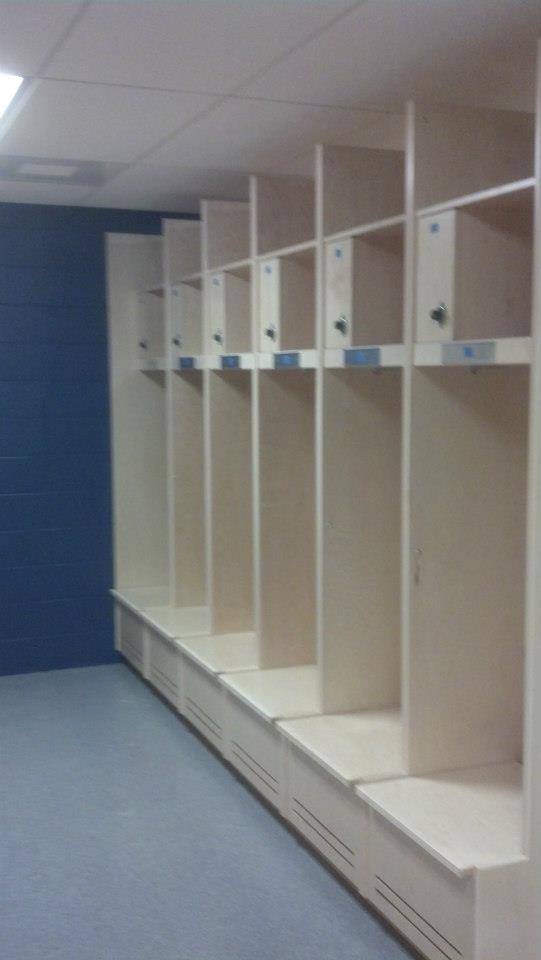 Dartmouth Lacrosse Locker Room
