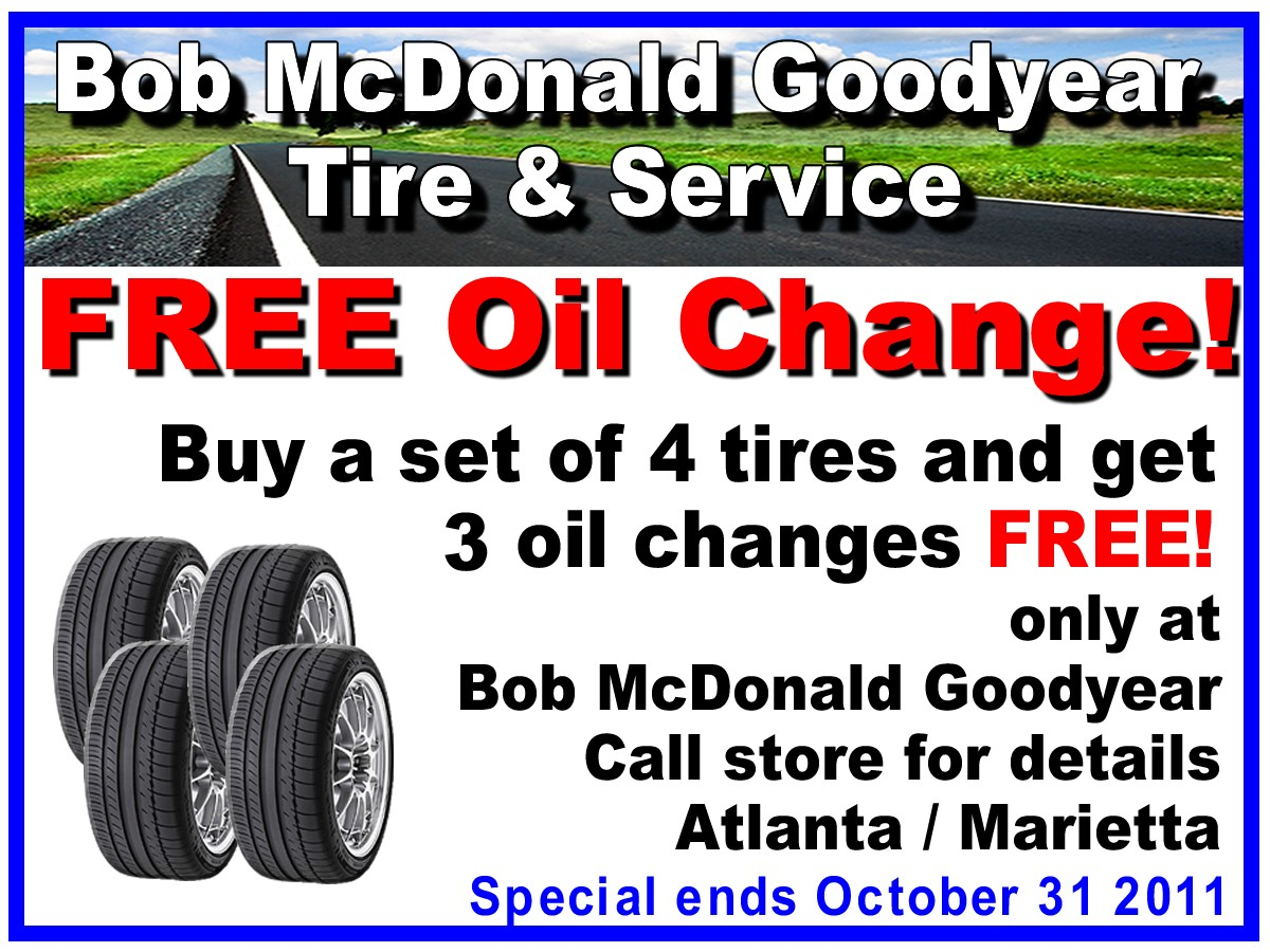 Discount coupons for tires