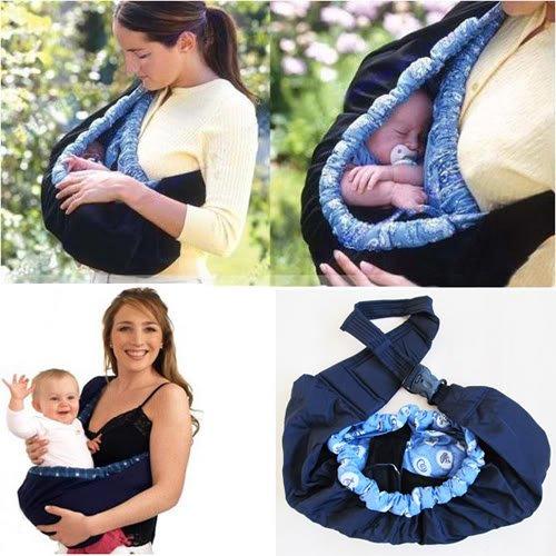 Marsupio porta bebe fascia elastico a tracolla per bimbo - Porta bimbo chicco ...