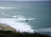 As ondas que tocam como caricias
