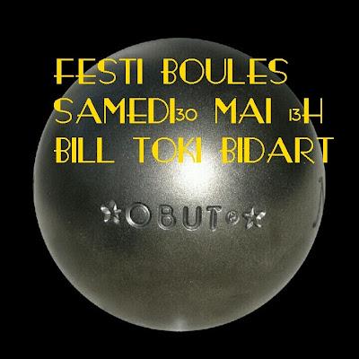 Festi'boules  2015 bidart