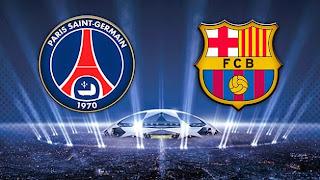 PSG Barcelona live liga campionilor