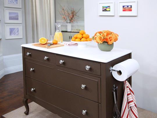 C moda na cozinha jeito de casa blog de decora o e for Comodas pequenas