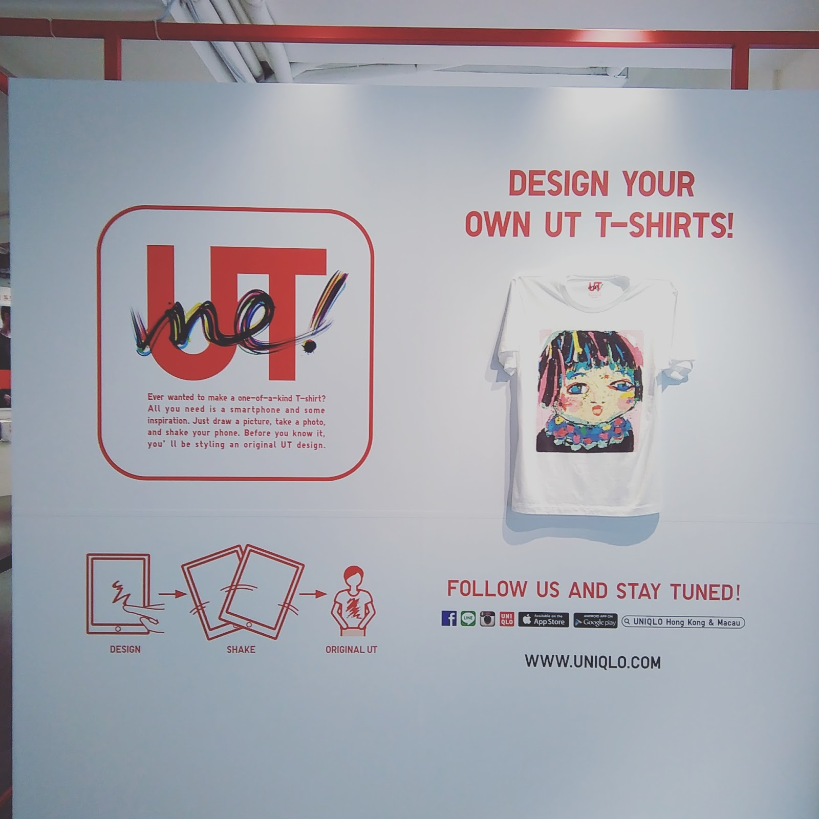 Design your own t shirt hong kong - Https Www Uniqloutme Com Hk 21st October 2015 Girlittlepeach Design Your Own Tee Diy Hong Kong