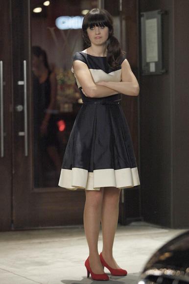 Zooey deschanel fashion style new girl