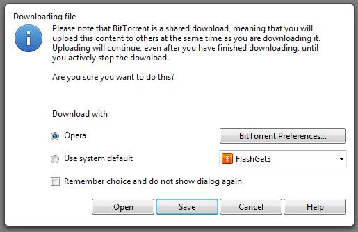 4. cara donwload torrent menggunakan opera