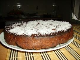 "<img alt="" Gâteau au chocolat sans oeufs."""