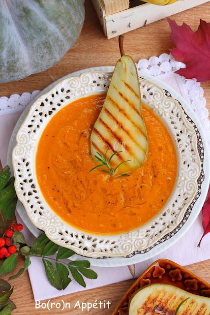 zupa dynia gruszki
