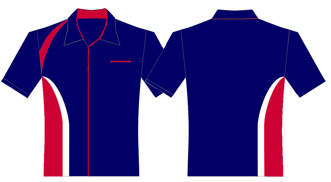 Contoh Desain Kemeja Logo Upt Dindikpora Kec Salem Warna Biru
