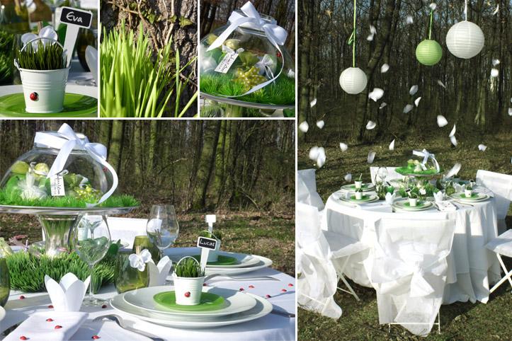 Theme Mariage Nature Dcoration Vin Duhonneur Nature Et Plan De