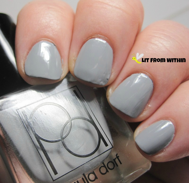 Paula Dorf Stormy, a light grey creme