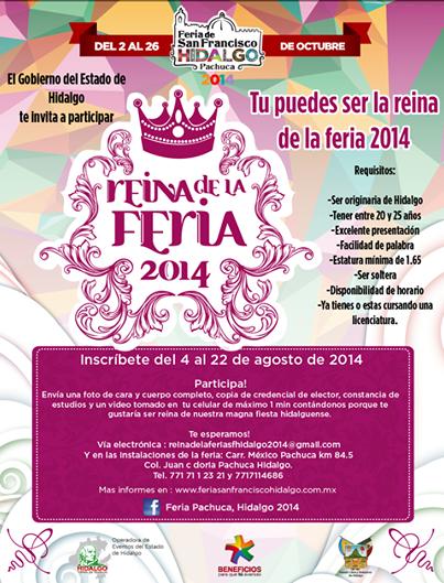 reina feria pachuca 2014