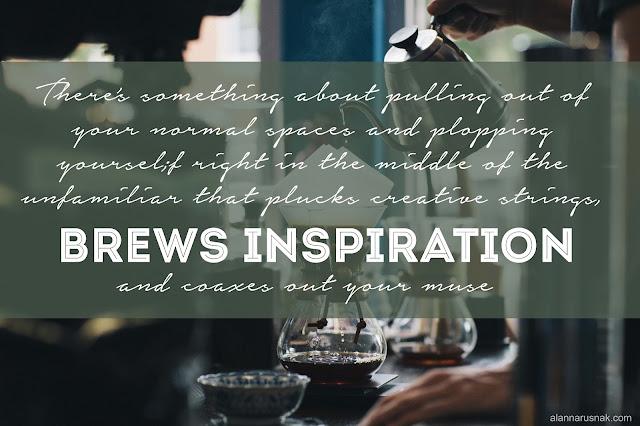 brewing inspiration - alanna rusnak quote