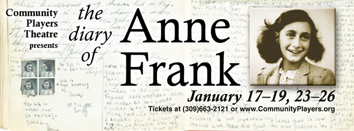 a comparison between the diary of anne frank and the play of anna frank