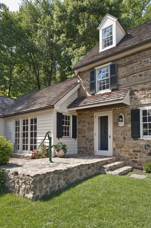 Farmhouse kitchen with a twist my special place for Pennsylvania stone farmhouses