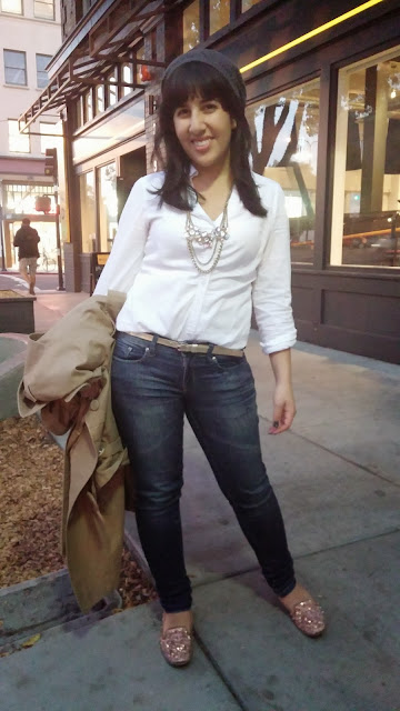 Basic Button Down and Jeans