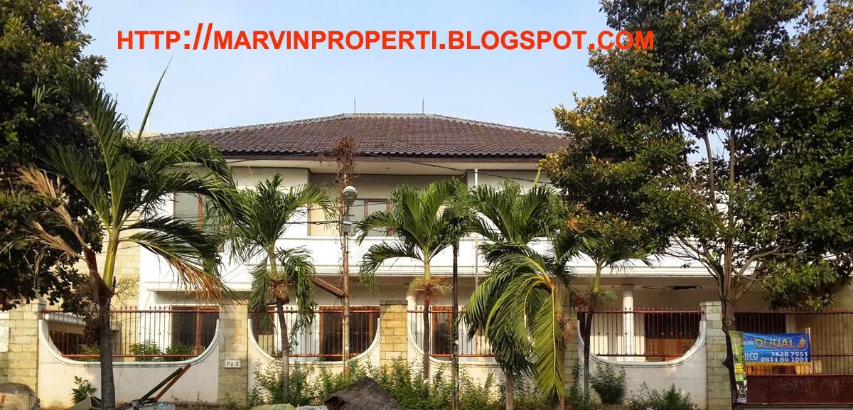 Rumah Dijual Sunter Mas luas lega Sunter Jakarta Utara tampak depan Desember 2014