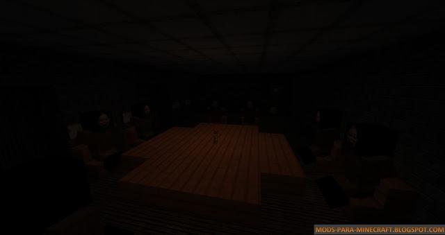 Oscuridad en el tenebroso mapa The Doll Maker 1.8