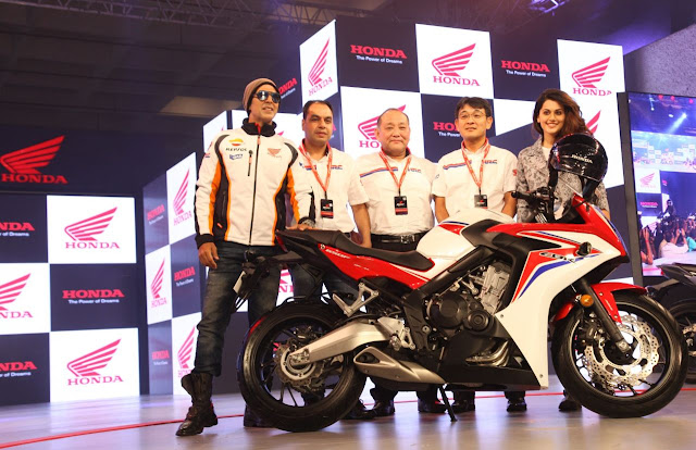 Honda CBR 650F India Launch by Akshay Kumar