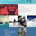 Free PSD One Page Web Design templates