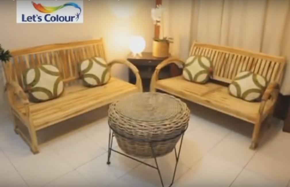 indonesia tourism menata interior ruang tamu sederhana