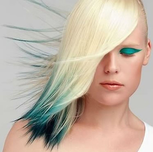10 Hair Color Ideas For Blondes: It Began With A Theory...: Fun Color Hair Extensions