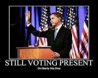 Obama Votes Present