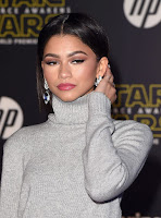 Zendaya Coleman Star Wars The Force Awakens Premiere red carpet dresses photos