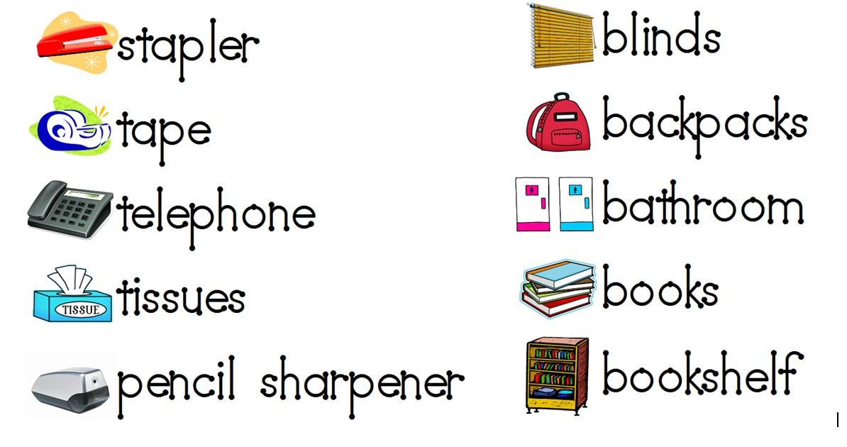 Aloha kindergarten july 2011 for Room labels