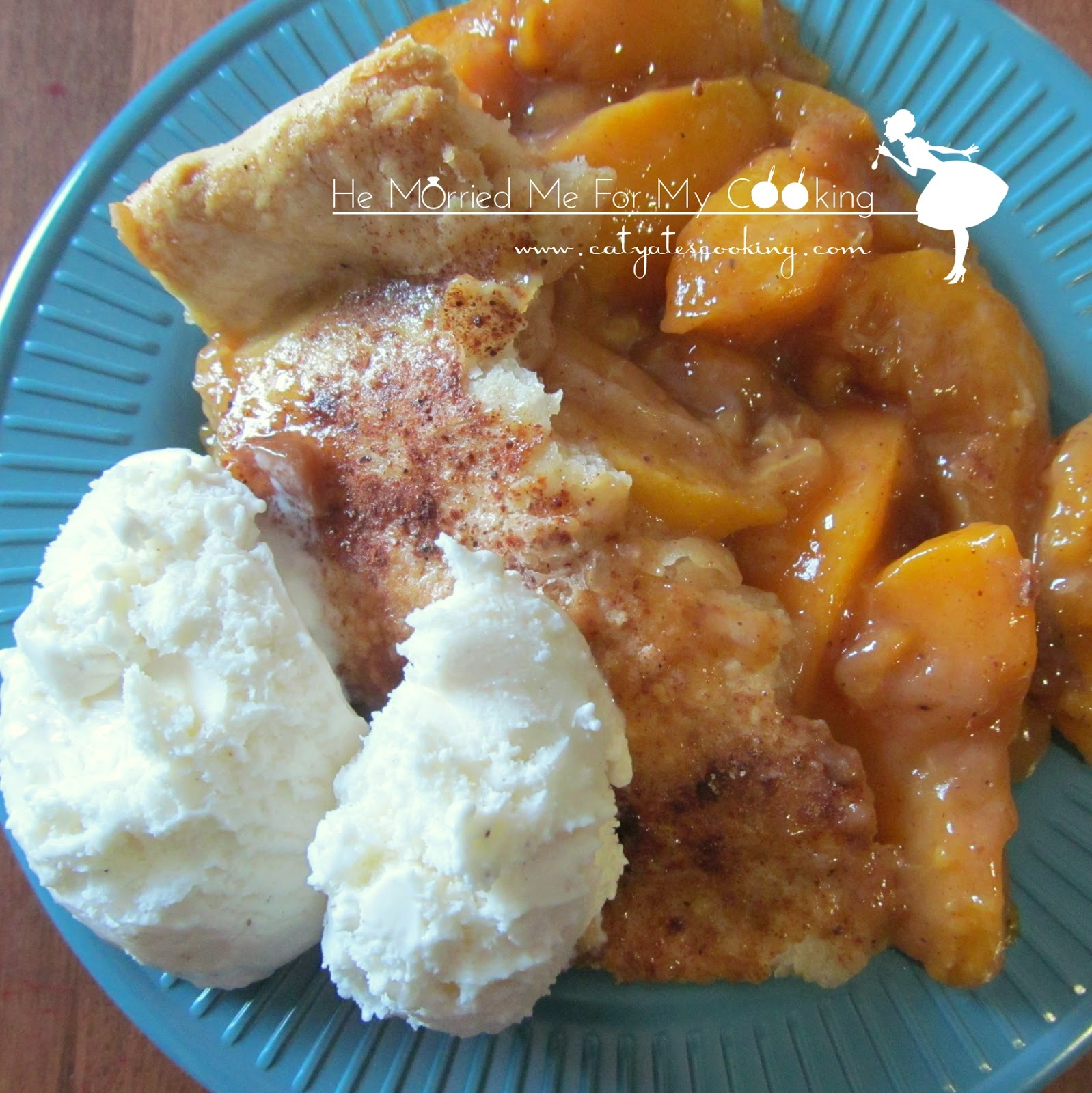 Southern Style Peach Cobbler} - Wait Til Your Father Gets Home