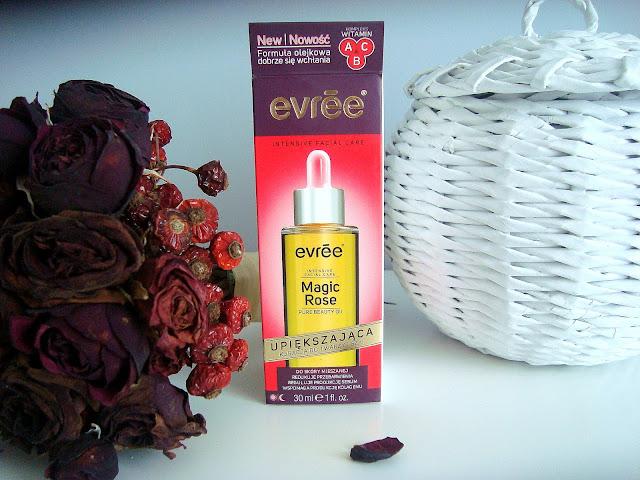 Magiczny olejek różany od Evree