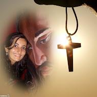 JESUS É TUDO NA MINHA VIDA SEM ELE NÃO SEI  VIVER.
