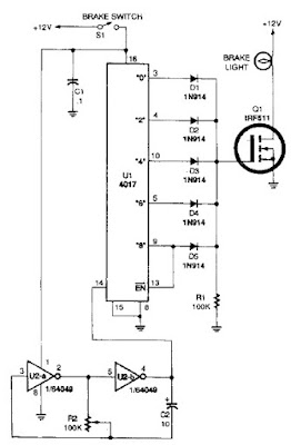 Lights Circuit Diagram