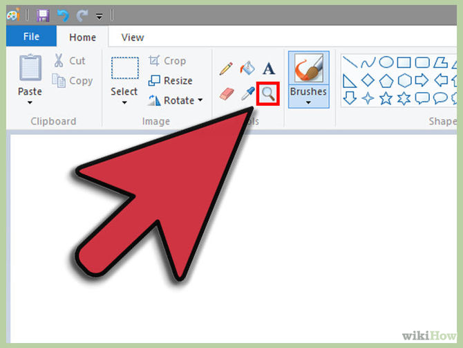 How To Remove White Background In Paint Windows