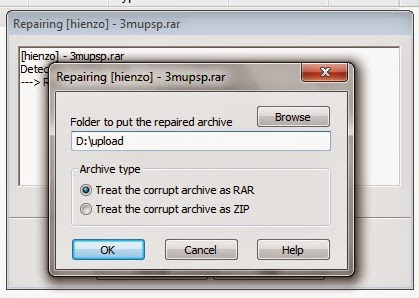 How to Repair Corrupted Archive .rar .zip file