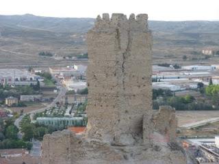 Torre Qadrit, castillo de Cadrete Zaragoza