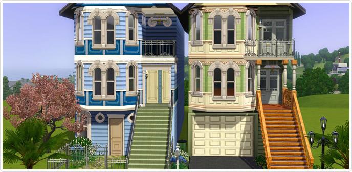 Regal Living free sims 3 downloads: full regal living set