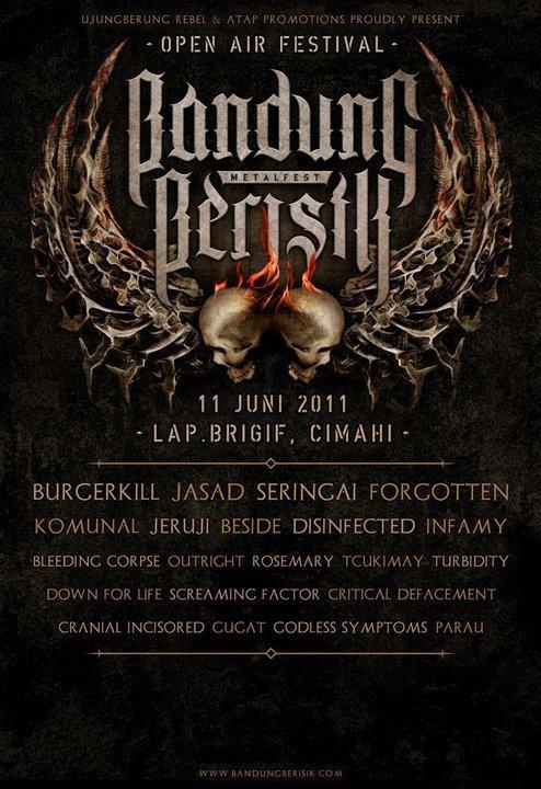 IMAGE- BANDUNG BERISIK METAL FEST  2011
