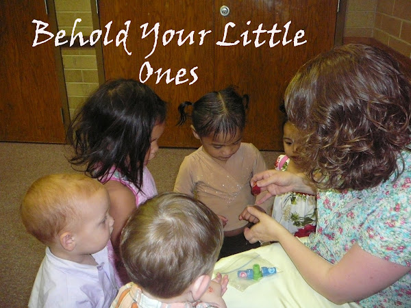 LDS Home and  Nursery Themes by Lesson Number