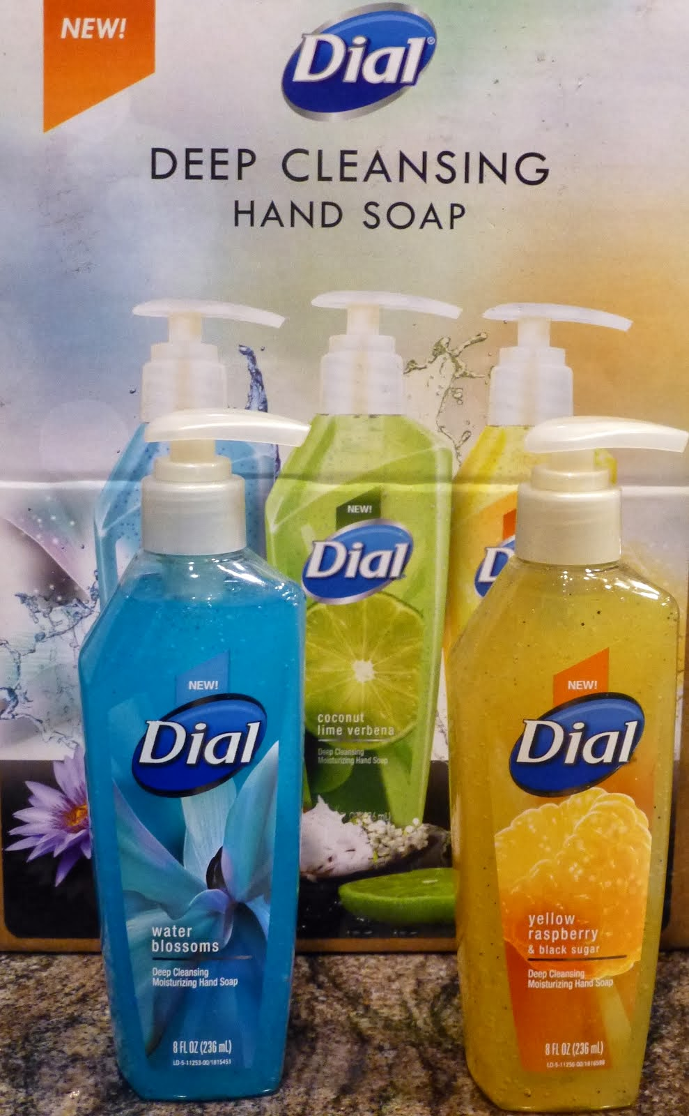 Enter To Win Dial Deep Cleansing Hand Soap!