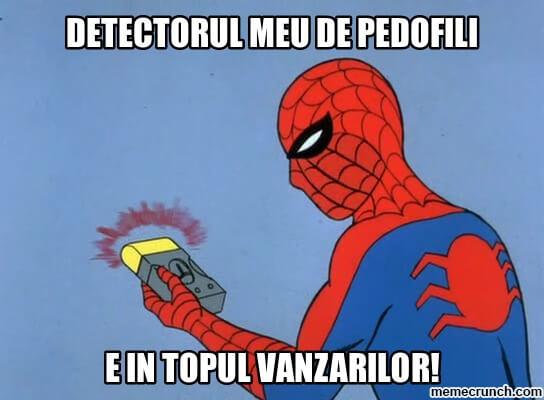 detectorul de pedofili pedofilie