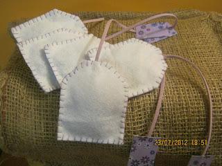 profuma biancheria in feltro - profuma biancheria fai da te - idee regalo - душистый коврик прачечная - duftende Wäsche Matte - scented laundry mat